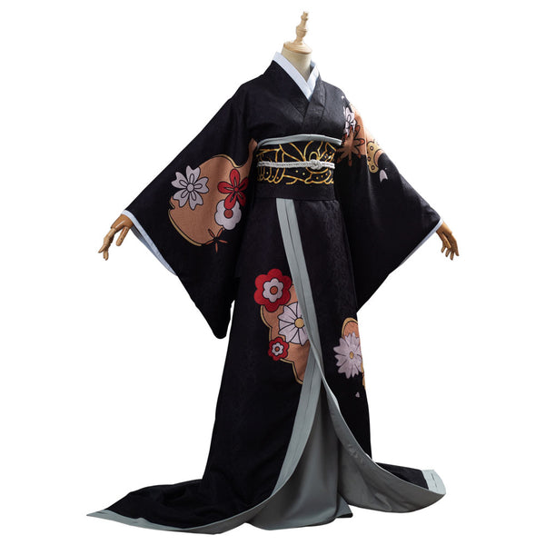 Kibutsuji Muzan Demon Slayer: Kimetsu no Yaiba Suit Female Form Cosplay Costume