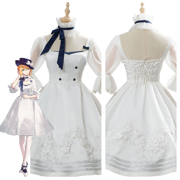 Fate/Grand Order Saber Dress Cosplay Costume