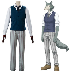 Legosi Cherryton High School Boys Beastars Louis Uniform Cosplay Costume
