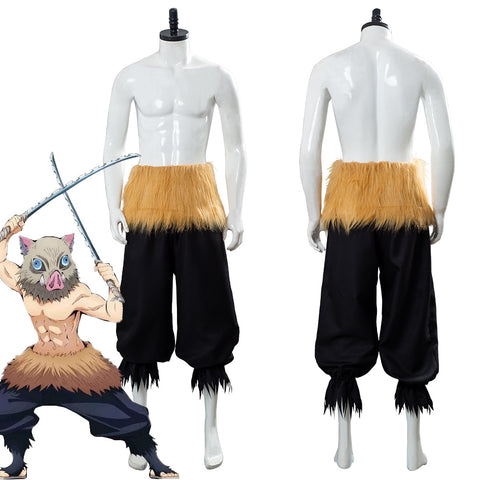 Hashibira Inosuke Demon Slayer: Kimetsu no Yaiba Outfit Cosplay Costume