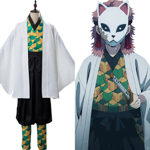 Demon Slayer: Kimetsu no Yaiba Sabito Outfit Cosplay Costume