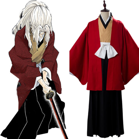 Tsugikuni Yoriichi Costume Demon Slayer: Kimetsu no Yaiba Outfit Cosplay Costume