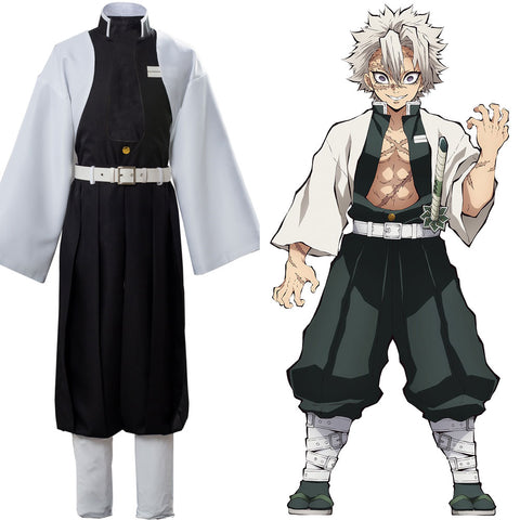 Wind Pillar Shinazugawa Sanemi Demon Slayer: Kimetsu no Yaiba Dress Cosplay Costume