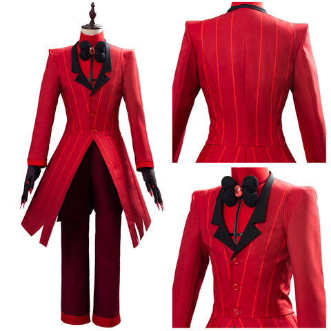 Hazbin Hotel ALASTOR Uniform Cosplay Costume