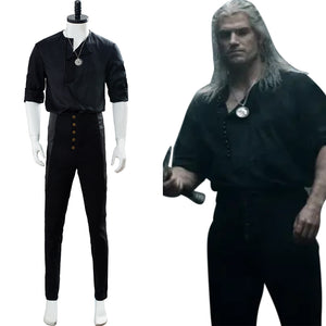 Geralt of Rivia The Witcher TV 2019 Casual Wear Cosplay Costume