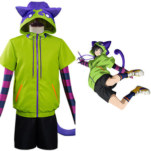 SK8 the Infinity - Miya Halloween Carnival Suit Cosplay Costume Coat Pants Outfits