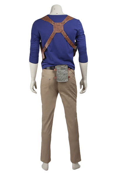 Uncharted 4 : A Thief's End Nathan Drake Suit Cosplay Costume