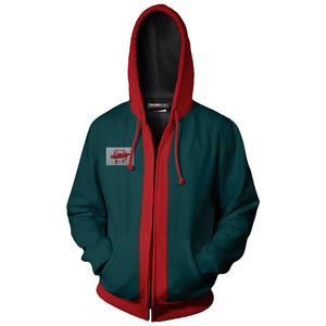 Spider-Man: Into the Spider-Verse Miles Morales Zip Up Hoodie