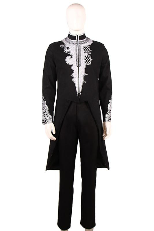Black Panther T'Challa Dinner Suit Evening Suit Cosplay Costume