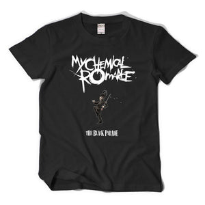 My Chemical Romance Custom Black Short T-shirt Cosplay Accessories