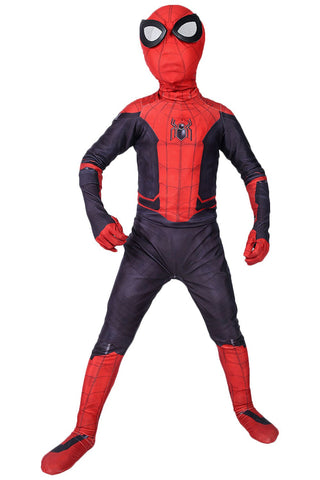 Kids Spiderman Bodysuit Outfit Spider-Man: Far From Home Cosplay Costume