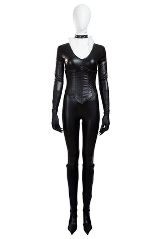 The Amazing Spider Man Black Cat Jumpsuits Cosplay Costume