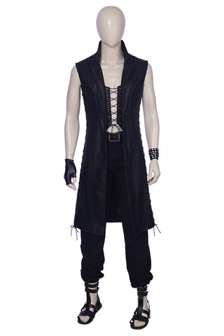 Devil May Cry 5 Mysterious Man Vitale V Cosplay Costume Adult Men