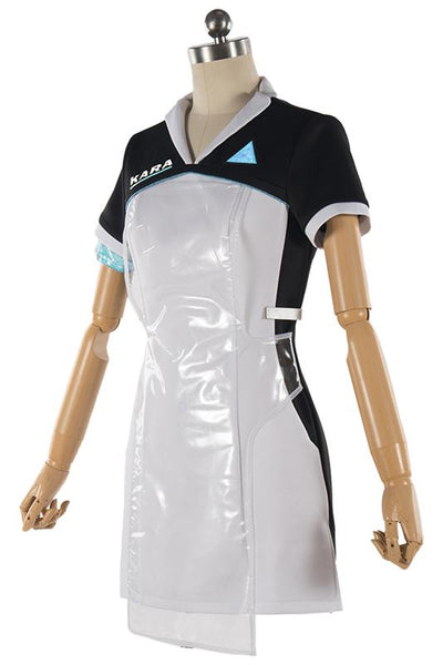 Detroit: Become Human KARA Cosplay Costume Code AX400 Agent Outfit Girls Dress for Halloween
