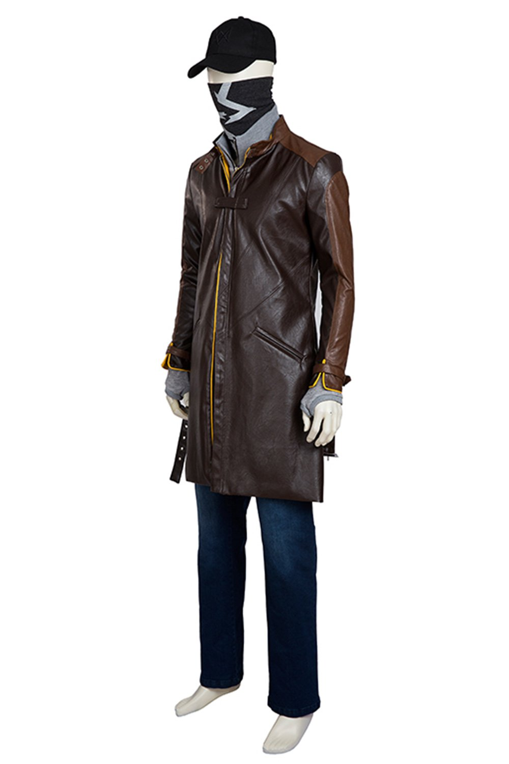 Watch Dog Aiden Pearce Outfit Cosplay Costume