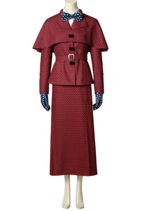 Mary Poppins 1964 Film Mary Poppins Cosplay Costume
