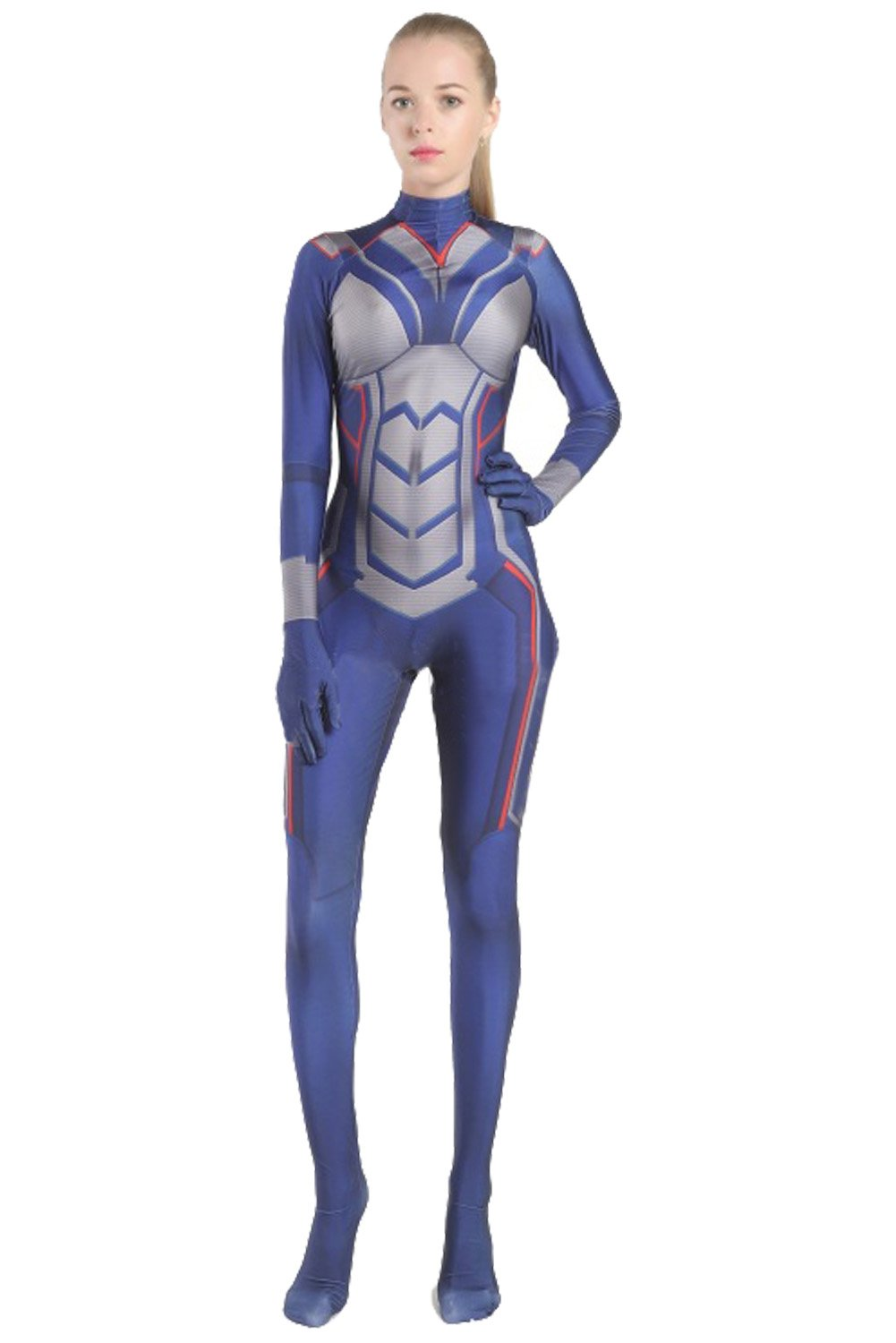 Ant-Man and the Wasp Nadia van Dyne Outfit Cosplay Costume