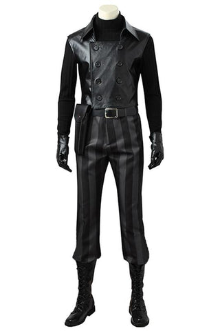 Spider-Man: Into the Spider-Verse Spider-Man Noir Outfit Cosplay Costume