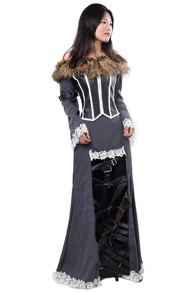 Final Fantasy X FF10 Lulu Outfit Cosplay Costume