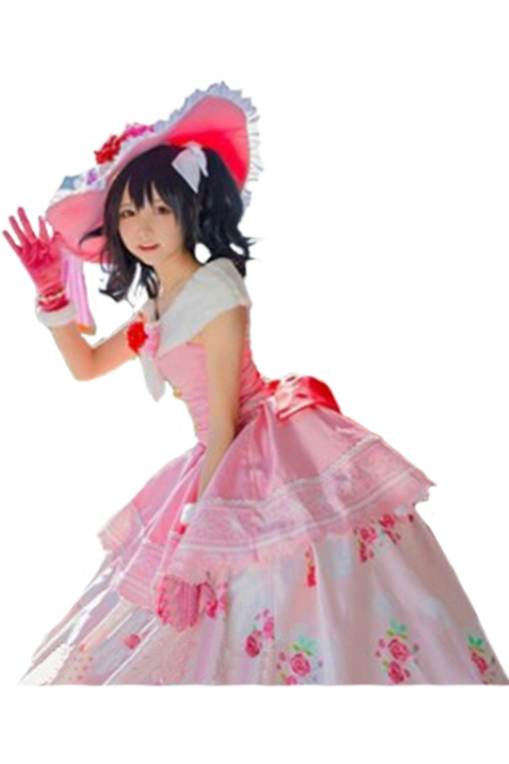 LoveLive! Cosplay Ball Nico Yazawa Dress Cosplay Costume