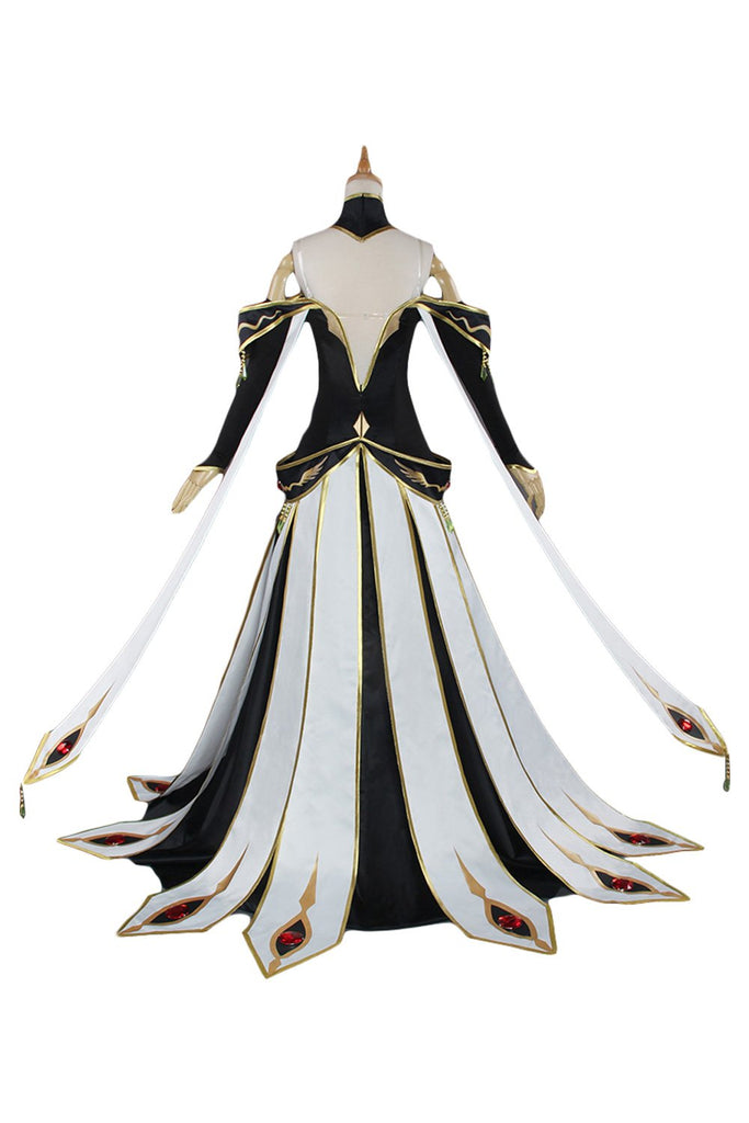 CODE GEASS Lelouch of the Rebellion C C  Outfit Cosplay Costume