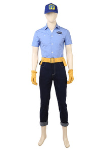Ralph Breaks the Internet: Wreck-It Ralph 2 Fix-It Felix Cosplay Costume