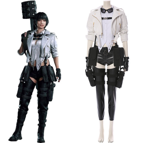 Devil May Cry V DMC5 Lady Mary Outfit Cosplay Costume Version Two