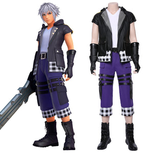 Kingdom Hearts III Riku Outfit Cosplay Costume Version Two