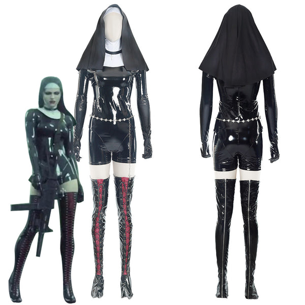 Nun Hitman 5: Absolution Sister Rosewood Orphanage Suit Cosplay Costume