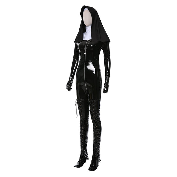 Rosewood Orphanage Hitman 5: Absolution Sister Nun Uniform Cosplay Costume