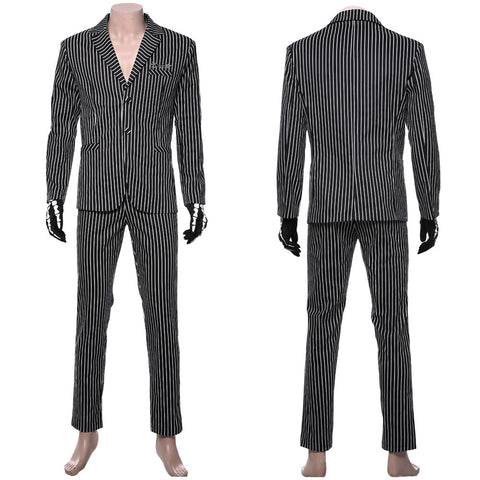 The Nightmare Before Christmas Jack Skellington Uniform Cosplay Costume