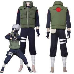 Naruto Hatake Kakashi Uniform Cosplay Costume