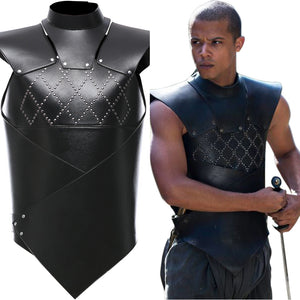 Game of Thrones Vest Gray Worm Outfit Cosplay Costume