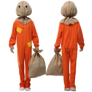 Trick 'R Treat Sam Outfit Halloween Cosplay Costume For Kids