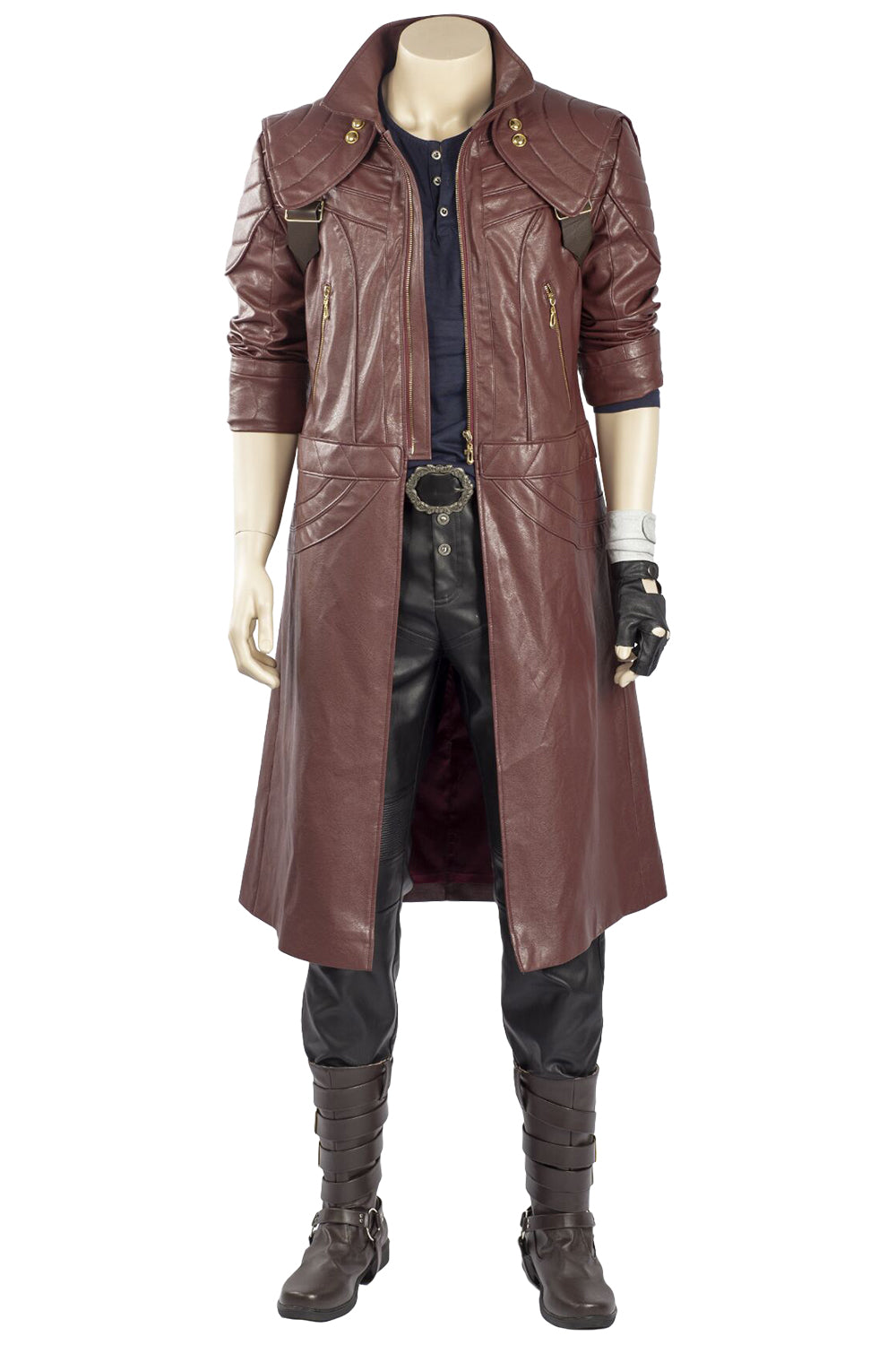 Devil May Cry 5 Dante Outfit Trenchcoat Cosplay Costume
