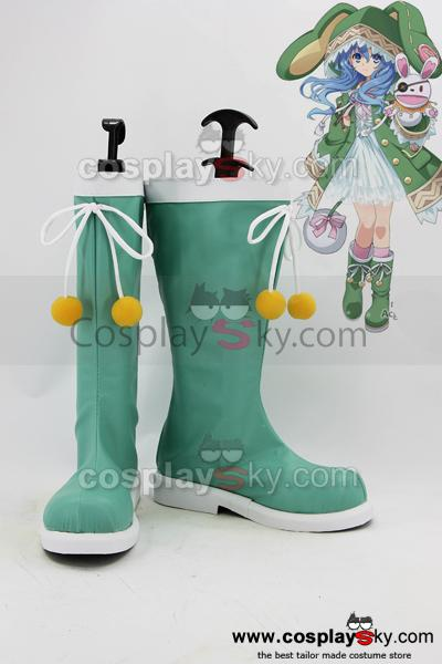 Date A Live Yoshino Cosplay Boots Shoes Custom Made
