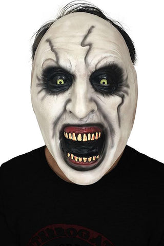 2018 Horror Movie The nun Valak Scary Horror Cosplay Mask Party Props Latex