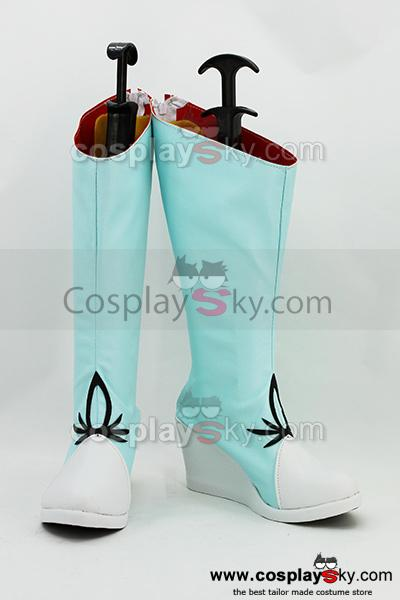 RWBY White Trailer Weiss Schnee Cosplay Boots Shoes