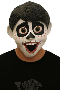 Movie Coco Miguel Mask Boys Skeleten Halloween Mask Latex