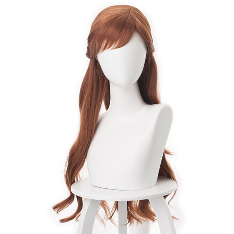 Disney  Frozen 2 Princess Anna Brown Cosplay Wigs