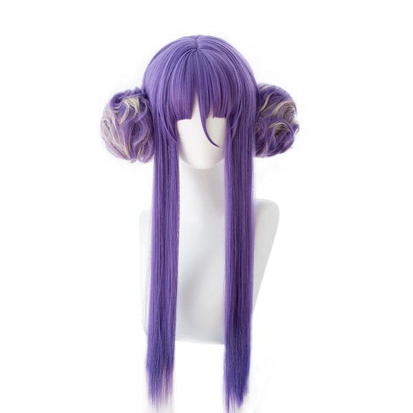 Fate/Grand Order Nitocris kimono Cosplay Wig Purple Long Wig