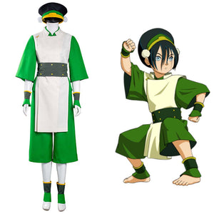 Avatar: The Last Airbender Toph bengfang Vest Pants Outfits Halloween Carnival Suit Cosplay Costume
