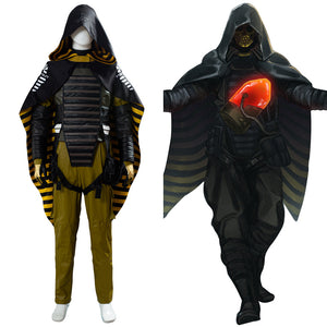 Higgs Monaghan Game Death Stranding Void Out Cape Homo Demens Suit Cosplay Costume