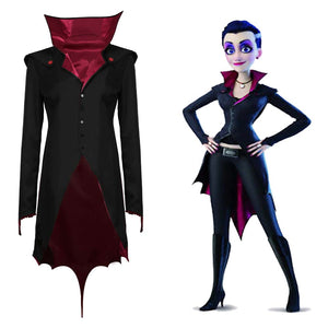 Happy Family -Emma Wishbone Halloween Carnival Suit Cosplay Costume Coat