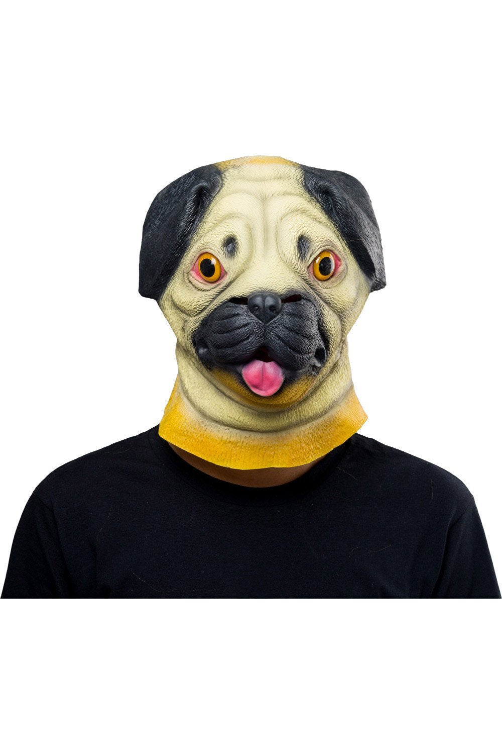 SharPei Dog Mask Halloween Animal Latex Masks Full Face Mask Adult Cosplay Prop
