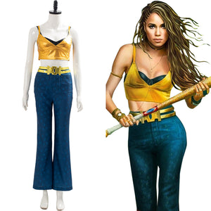 2020 Birds of Prey Cosplay Black Canary Outfit Cosplay Costume