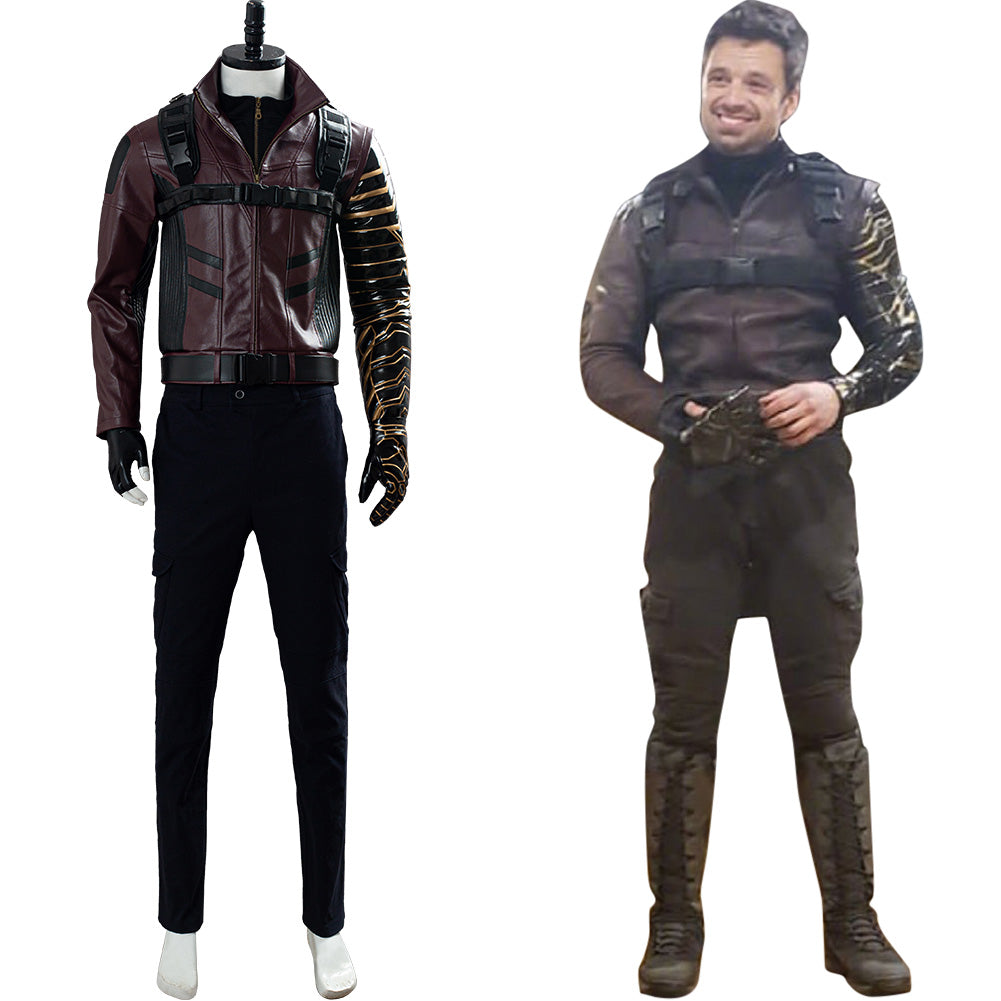 Bucky Barnes The Falcon and the Winter Soldier Cosplay Costume