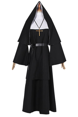 The Conjuring 2 The Nun Uniform Cosplay Costume