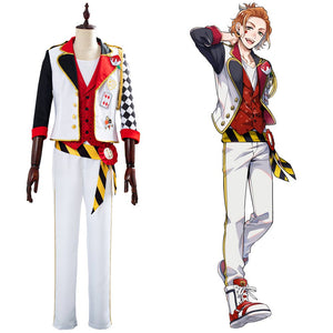 Game Twisted-Wonderland Alice in Wonderland Theme Cater Cosplay Costume Halloween Uniform Outfits