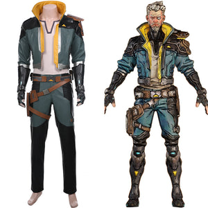 Zane Borderlands 3 Outfit Cosplay Costume
